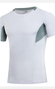 Hardlopen T-shirt / Compression Suit / Sweatshirt Heren Korte Mouw Ademend / Sneldrogend / Compressie / Zweetafvoerend / StretchFitness /