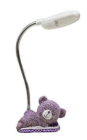 (Slumpmässigt mönster) lavendel bear nattlampor