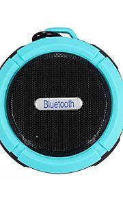 prodotti automobilistici blu impermeabile esterna senza fili ventosa fibbia bluetooth appeso altoparlante portatile