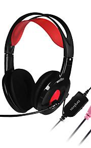 DANYIN Danyin DT-2112 해드폰 (헤드밴드)For미디어 플레이어/태블릿 / 모바일폰 / 컴퓨터With마이크 포함 / DJ / 볼륨 조절 / 소음제거 / Hi-Fi