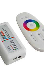 Jiawen 2.4G RGB LED wireless di controllo touch screen rgb sistema di controllo ha portato (CC 12-24V)