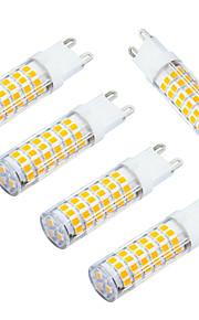 5W E14 LED-kornpærer T 75 SMD 3528 400-480 lm Varm hvit / Kjølig hvit Dekorativ AC 220-240 V 5 stk.