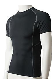 Hardlopen T-shirt / Compression Suit / Sweatshirt Heren Korte Mouw Ademend / Sneldrogend / Zweetafvoerend / Stretch / CompressieFitness /