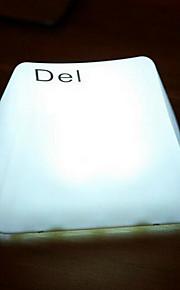 (Del) nightlight padrão de teclado