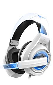 SENICC G241 해드폰 (헤드밴드)For미디어 플레이어/태블릿 / 모바일폰 / 컴퓨터With마이크 포함 / DJ / 볼륨 조절 / 게임 / 소음제거 / Hi-Fi