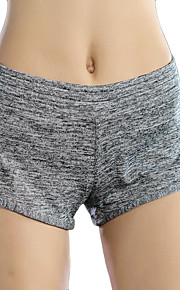 Running Shorts Women's Breathable / Quick Dry / Compression / Comfortable Polyester Boxing / Running Sports