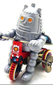 Игрушка новизны / Ролевые игры / Логические игрушки / Игрушка с заводом Игрушка новизны / / Велоспорт / Робот Металл Розовый Для детей