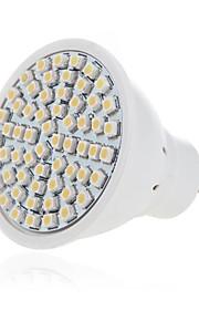 5 GU10 / GX5.3 Lâmpadas de Foco de LED MR16 60 SMD 2835 500LM lm Branco Quente / Branco Frio Decorativa AC 220-240 V 1 pç