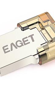 EAGET V8-8G 8GB USB 3.0 Resistente all'acqua / Resistente agli urti / Compatta / Supporto OTG (Micro Usb)