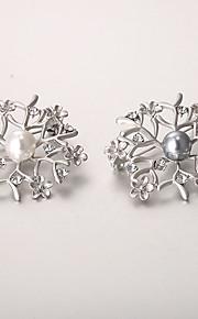 europæiske og amerikanske mode zircon perle broche serie 011