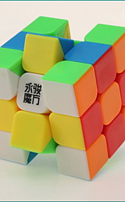 / Glat Speed Cube 3*3*3 / Magiske terninger Regnbue Plastik