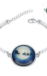 Jewelry 925 siver Bracelet Bracelet Glass Party Jewelry Gift Silver1pc YGH0010-A