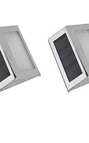 0.5 Soldrevne LED-lamper 30 lm Varm hvit / Kjølig hvit DIP-LED Dekorativ <5V V 2 stk