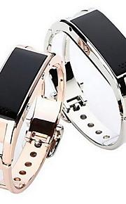 Mulheres Smartwatch Digital LED / Controle Remoto / Calendário / alarme / Podômetro / Monitores de Atividades Esportivas / Cronômetro Lega