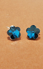 Øreringe Flower Shape,Smykker 1pc Moderigtig Legering Sølv Daglig / Afslappet