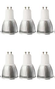 5W GU10 LED-spotpærer MR16 1 COB 480LM lm Varm hvit / Kjølig hvit Dimbar / Dekorativ AC 100-240 / AC 110-130 V 10 stk.