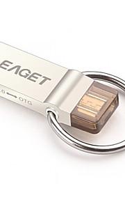 EAGET V90-64G 64Go USB 3.0 Résistant à l'eau / Anti-Choc / Taille Compacte / Compatible OTG (Micro USB)