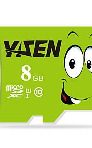 Yisen 8gb UHS-I U1 / clase 10 microSD / microSDHC / microSDXC / tfmax leer speed80 (MB / s)