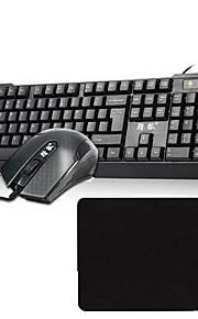 V-OX USB 1600 DPI Gaming Tastatur- & Mus-kombinationWithUsb