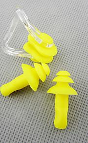 yellow swimming
