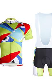 Cycling PaladinSport Men Shirt + Straps Shorts Suit DX661 Not Great Eyes
