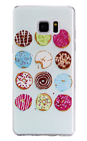 TPU Material Sweet Circle Pattern Cellphone Case for Samsung Galaxy Note 7
