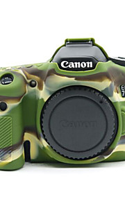Dengpin Soft Silicone Armor Skin Rubber Camera Cover Case Bag for Canon EOS 70D (Assorted Colors)