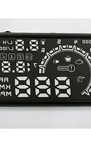 Hud display car HUD Head Up Display car hud Car Styling Speeding Warning System Good quality 5.5 inch OBD2 Interface