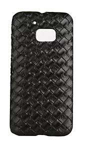 백 충격방지 / 울트라-씬 한색상 인조 가죽 하드 Ultra-thin   Shockproof 케이스 커버를 들어 HTC HTC M10