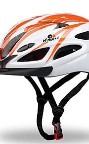 Unisex Sports Bike helmet 18 Vents Cycling Cycling / Skate L:58-61CM PC / EPS White / Red / Blue