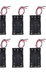 6PCS It Can Be Installed Three AA 3 AA Batteries Battery Case