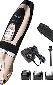 Dog Grooming Clipper & Trimmer Pet Grooming Supplies Rechargeable / Wireless / Low Noise / Electric Gold P2