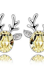 Øreringe Animal Shape Smykker 1 par Mode Daglig Legering Dame Sølv