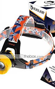 U`King® Lanternas de Cabeça Faixa Para Lanterna de Cabeça LED 2000LM Lumens 3 Modo Cree XM-L T6 18650.0Regulável Foco Ajustável