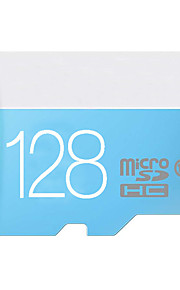 kwaliteit 8GB / 16GB / 32GB / 64GB / 128GB blauwe klasse 10 werkelijke capaciteit micro sd TF-geheugenkaart met sd adapter