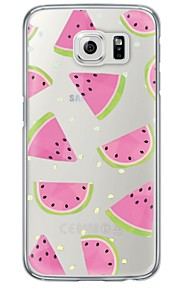 Per retro Ultrasottile / Traslucido Frutta TPU Morbido Copertura di caso per Samsung GalaxyS7 edge / S7 / S6 edge plus / S6 edge / S6 /