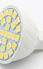 5W GU10 / GX5.3 LED-spotpærer MR16 29 SMD 5050 500LM lm Varm hvit / Kjølig hvit Dekorativ AC 220-240 V 1 stk.