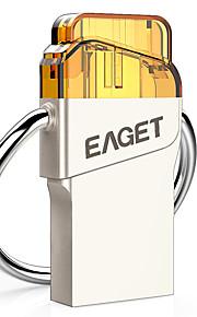 EAGET V80-32G 32Go USB 3.0 Résistant à l'eau / Crypté / Anti-Choc / Taille Compacte / Compatible OTG (Micro USB)