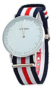 Unissex Relógio Elegante / Relógio de Moda Quartz / Couro Banda Arco-Íris / Legal / Casual Cores Múltiplas marca