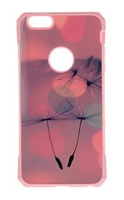 Skal Mönster Blomma TPU Mjuk Fallet täcker för Apple iPhone 7 Plus / iPhone 7 / iPhone 6s Plus/6 Plus / iPhone 6s/6 / iPhone SE/5s/5