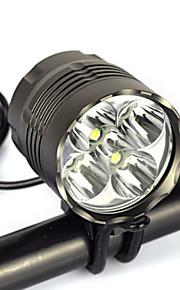 Lanternas de Cabeça / Lanternas e Luzes de Tenda / Luzes de Bicicleta / Faixa Para Lanterna de Cabeça / luzes do fulgor da bicicleta /