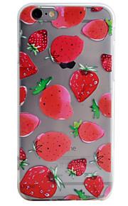 Coque Motif Fruit TPU Doux Couverture de cas pour Apple iPhone 6s Plus/6 Plus / iPhone 6s/6 / iPhone SE/5s/5