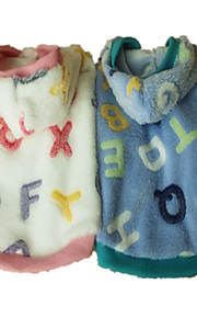 Holdhoney Dog Hoodie Blue / Pink Dog Clothes Spring/Fall Letter & Number Fashion (#LT15050279)