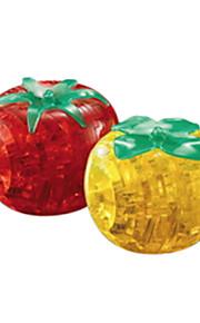 puslespil 3D-puslespil / Krystalpuslespil Byggesten DIY legetøj ABS Hvid Model- og byggelegetøj