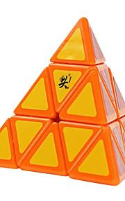 / Glat Speed Cube Pyraminx / stress relievers / Magiske terninger Regnbue Plastik