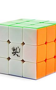 / Glat Speed Cube 3*3*3 / stress relievers / Magiske terninger Regnbue Plastik