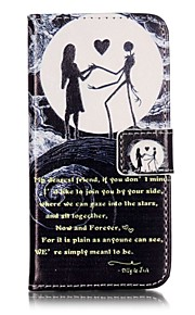 Ganzkörper Brieftasche / Flip Wort / Phrase PU - Leder Hart Fall-Abdeckung für Apple iPhone 7 plus / iPhone 7