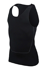 Carrera / Running Tops Hombres Sin Mangas Transpirable / Suave Poliéster Ejercicio y Fitness / Running Deportes® Ropa deportiva Eslático