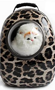 Gato / Dog Transportines y Mochilas de Viaje / El astronauta de la cápsula portadora Mascotas Portadores Portátil / Leopardo / Cebra