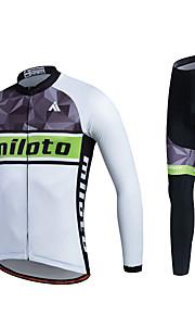 MILOTO Cycling Jersey Autumn Ropa Ciclismo Long Sleeve MTB Racing Tracksuit Comfortable Cloth Bicycle Shirt Pants